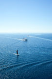 Strait of Bonifacio between Corsica and Sardinia, Royalty Free Stock Images