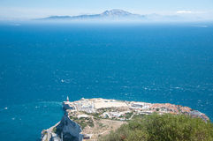 The Strait of Gibraltar Royalty Free Stock Photography