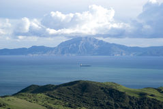 Strait of Gibraltar Royalty Free Stock Photo
