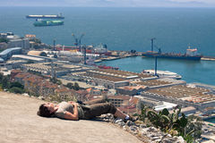Strait of Gibraltar Stock Photography