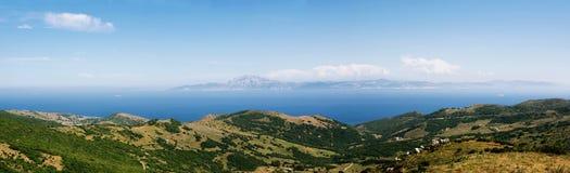 Strait of gibraltar Royalty Free Stock Photo