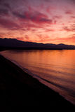 Strait of Juan de Fuca Sunset Royalty Free Stock Photography