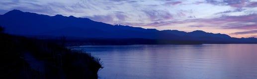 Strait of Juan de Fuca Sunset Royalty Free Stock Images
