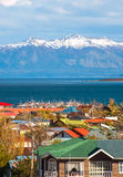 Strait Of Magellan, Puerto Natales, Chile Royalty Free Stock Image