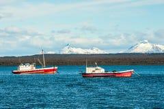 Strait Of Magellan, Puerto Natales, Chile royalty free stock photo