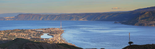 Strait of Messina Royalty Free Stock Photography