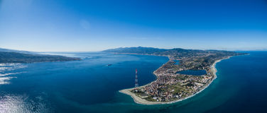 Strait of Messina Royalty Free Stock Images