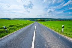 Strait  Road Royalty Free Stock Photography