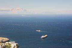 Straits of Gibraltar Stock Photos