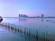 Straits of Johor Royalty Free Stock Photo