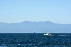 On the Straits of Juan de Fuca Stock Photo