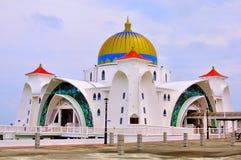 Straits Mosque, Melaka Stock Images
