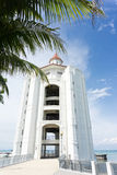 Straits Quay lighthouse Stock Photo