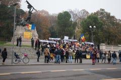 Strajk na 20th 2016 Listopadzie Mieszkana protest przeciw rynkowi na kwadracie bologna Włochy Zdjęcia Stock