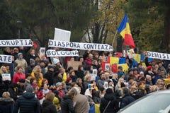 Strajk na 20th 2016 Listopadzie Mieszkana protest przeciw rynkowi na kwadracie bologna Włochy Obrazy Stock
