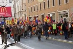 strajkowi społeczeństwo pracownicy Zdjęcie Stock