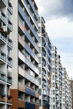 Het kleurrijke Blok van Oost-Berlijn Royalty-vrije Stock Foto's