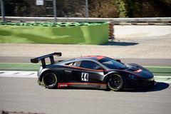 Strakka Racing McLaren 650S GT3 car at Monza Royalty Free Stock Photos