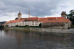 Strakonice城堡 免版税图库摄影