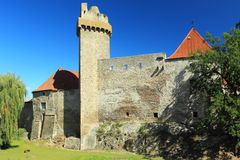 Strakonice castle Royalty Free Stock Images
