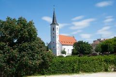 Strakonice, Czech republic. Church of St. Margaret in the city Strakonice, Southern Bohemia, Czech republic Royalty Free Stock Photos