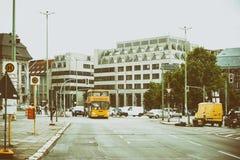 Stralauer Street Berlin Stock Photos