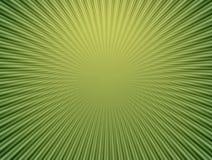 Stralen in abstract groen heelal stock illustratie