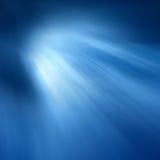 Stralen van Gekleurd Licht Stock Foto's