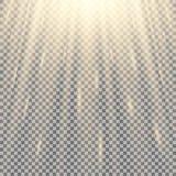 Stralen van Licht vector illustratie