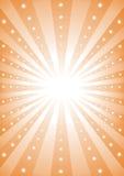 Stralen van licht royalty-vrije illustratie