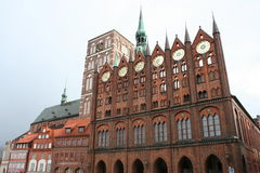 Stralsund Stock Photo