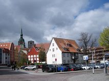 Stralsund alemania Fotografía de archivo