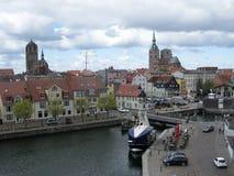 Stralsund alemania Imagen de archivo libre de regalías