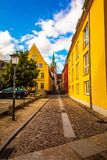Stralsund city in the summer day royalty free stock photo