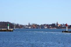 Stralsund-Hafen Lizenzfreie Stockfotos
