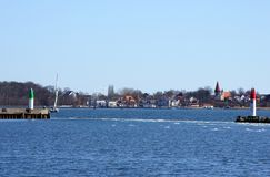 Stralsund harbor Royalty Free Stock Photos