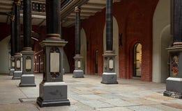 Stralsund Historische Arcades van het stadhuis stock afbeeldingen