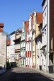 Stralsund stary miasteczko Zdjęcia Stock