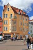 Stralsund Tyskland arkivbilder