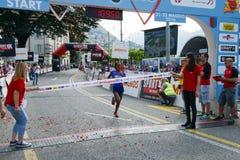 StraLugano half marathon Royalty Free Stock Photos