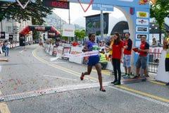 StraLugano half marathon Stock Photos