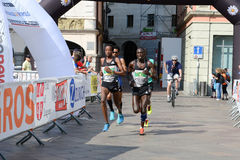 StraLugano halve marathon Stock Fotografie