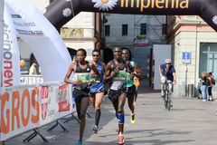 StraLugano halve marathon Stock Foto