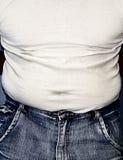 stram tummy arkivfoton