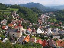 Stramberk -捷克共和国的城镇 图库摄影