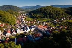 Stramberk bonito na república checa fotografia de stock royalty free