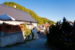 Stramberk hermoso en República Checa imagenes de archivo