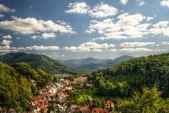 Stramberk Landschaft Stockbild