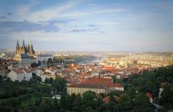 strana της Πράγας mala κάστρων Στοκ φωτογραφία με δικαίωμα ελεύθερης χρήσης