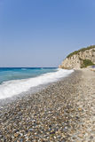 strandö samos Royaltyfri Foto